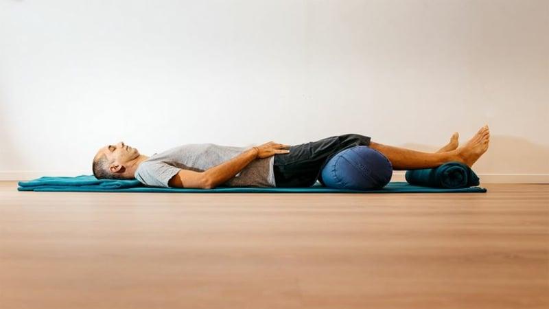 den Alltagsstress abbauen mit Yoga