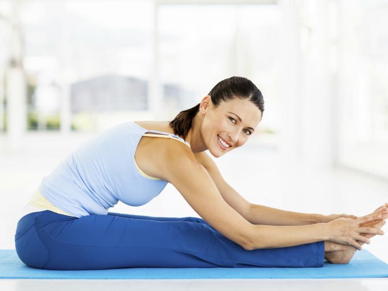 Yoga Übungen Forward Bend