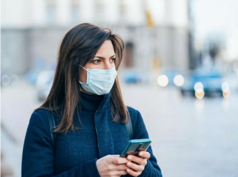 Gesichtsmaske tragen Coronavirus