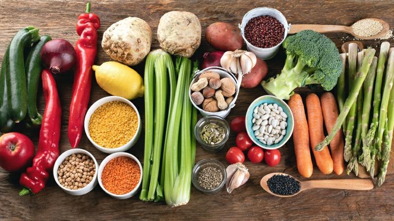 ausgewogene und vielfältige Ernährung