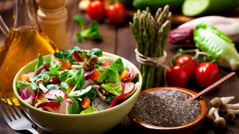 gesund essen mehr Salate
