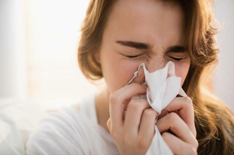 laufende Nase Erkältung Grippe