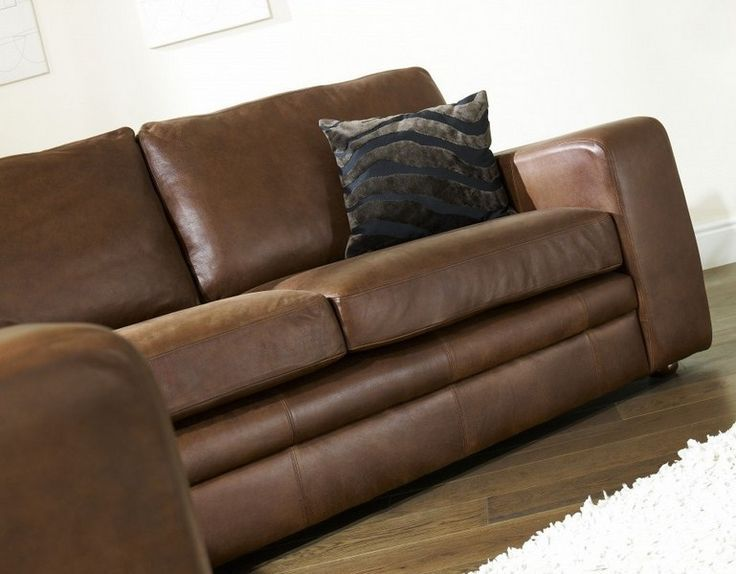 bequemes Sofa Lederpolsterung