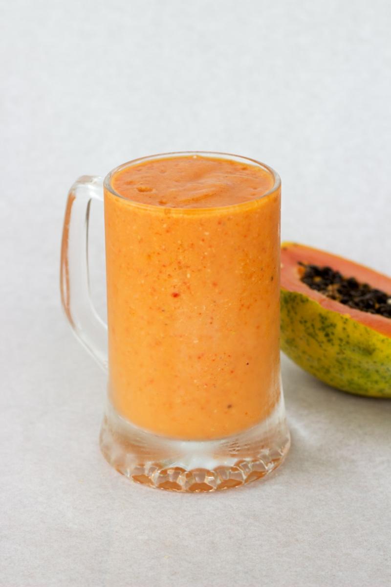 Smoothie Rezepte Abnehmen Papaya