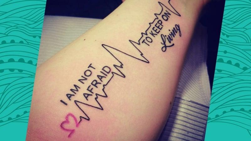 Depression Tattoo Puls herrliche Idee