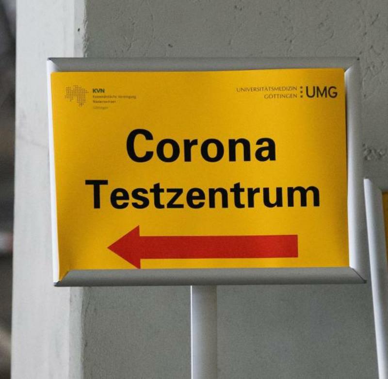 Coronavirus Symptome Testzentrum
