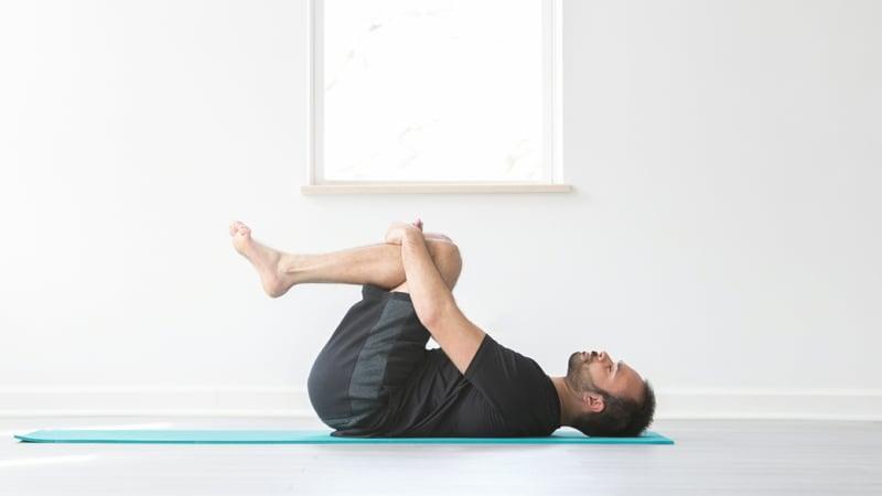 Yoga Übungen bei Schlafproblemen