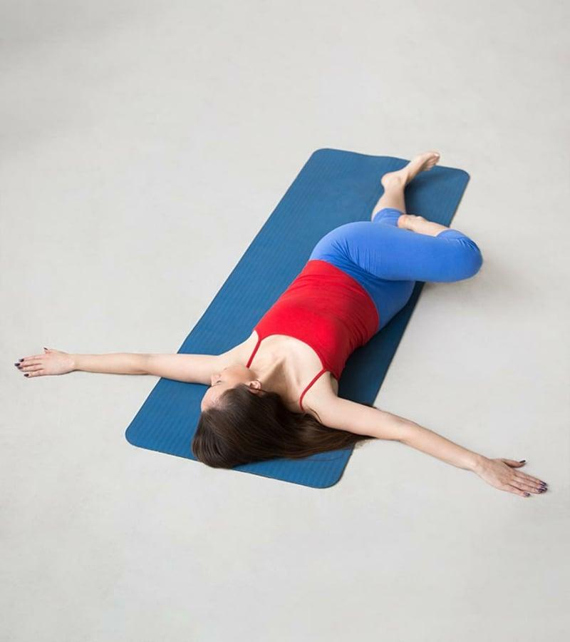 Supine Spinal Pose selber machen