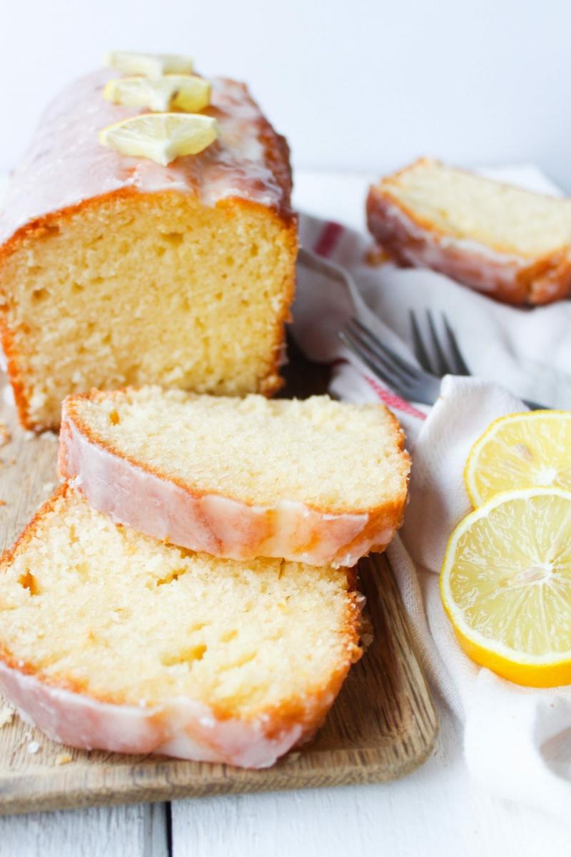 veganer Kuchen mit Zitrone