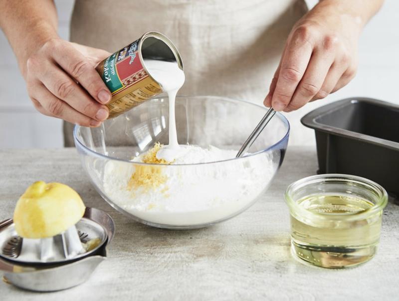 Zitronenkuchen Teig zubereiten