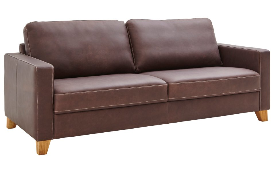 Sofa für zwei Personen Lederpolsterung