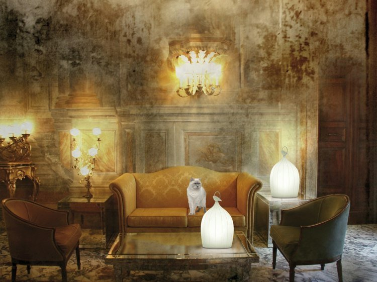 Wohnzimmerlampen in Barock Stil prachtvoll