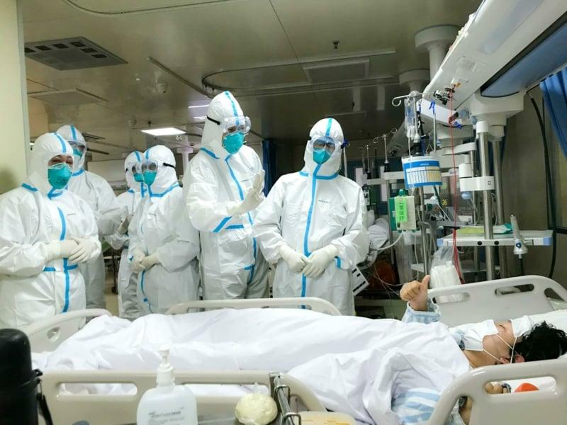 Krankenhausaufenthalt Patienten Coronavirus