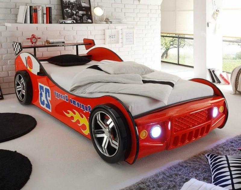 Kinderbett Auto Jungenzimmer
