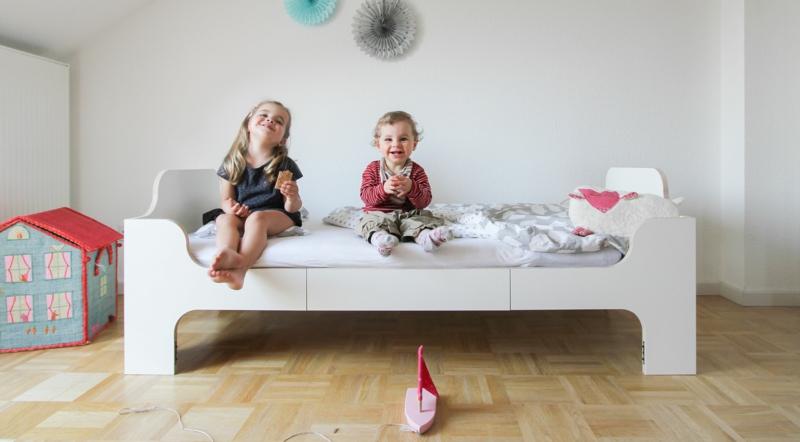 mitwachsendes Bett für das Kinderzimmer kaufen