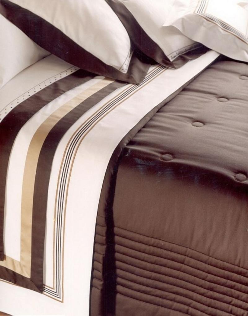 hochwertige Bettwäsche Streifenmuster