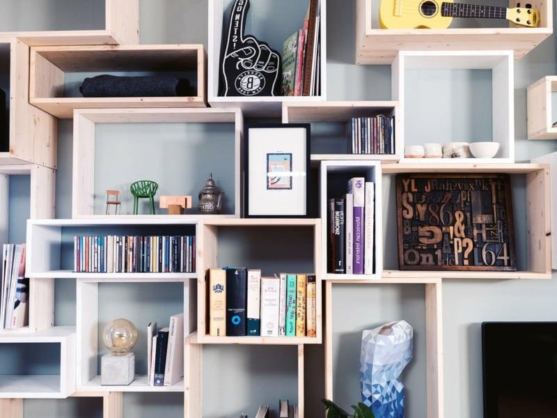 Bücherregal bauen Anleitung