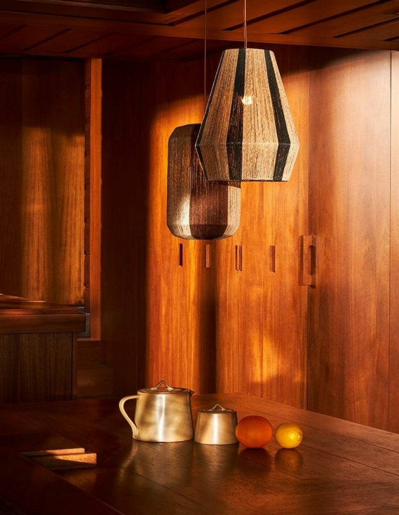 tolle DEckenlampen aus Rattan
