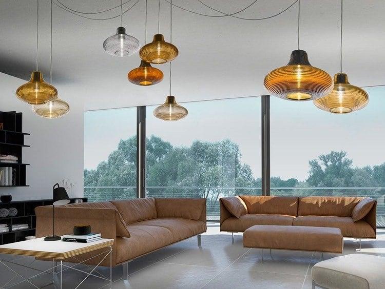 Wohnzimmerlampen modern attraktiv