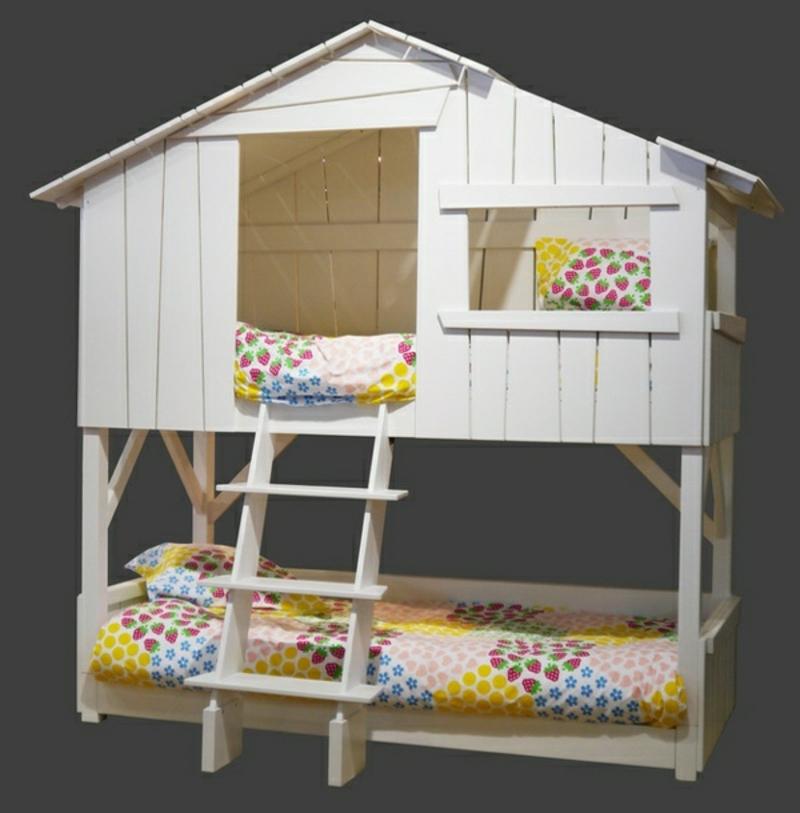Kinderzimmer Etagenbett fantasievoll umgestalten