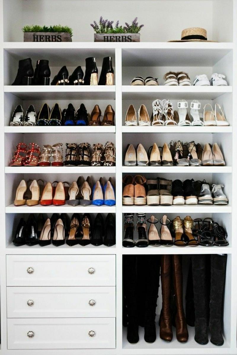 praktischer Schrank Schuhe aufbewahren