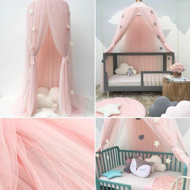 Kinderbett auswählen Himmelsbett für Mädchen