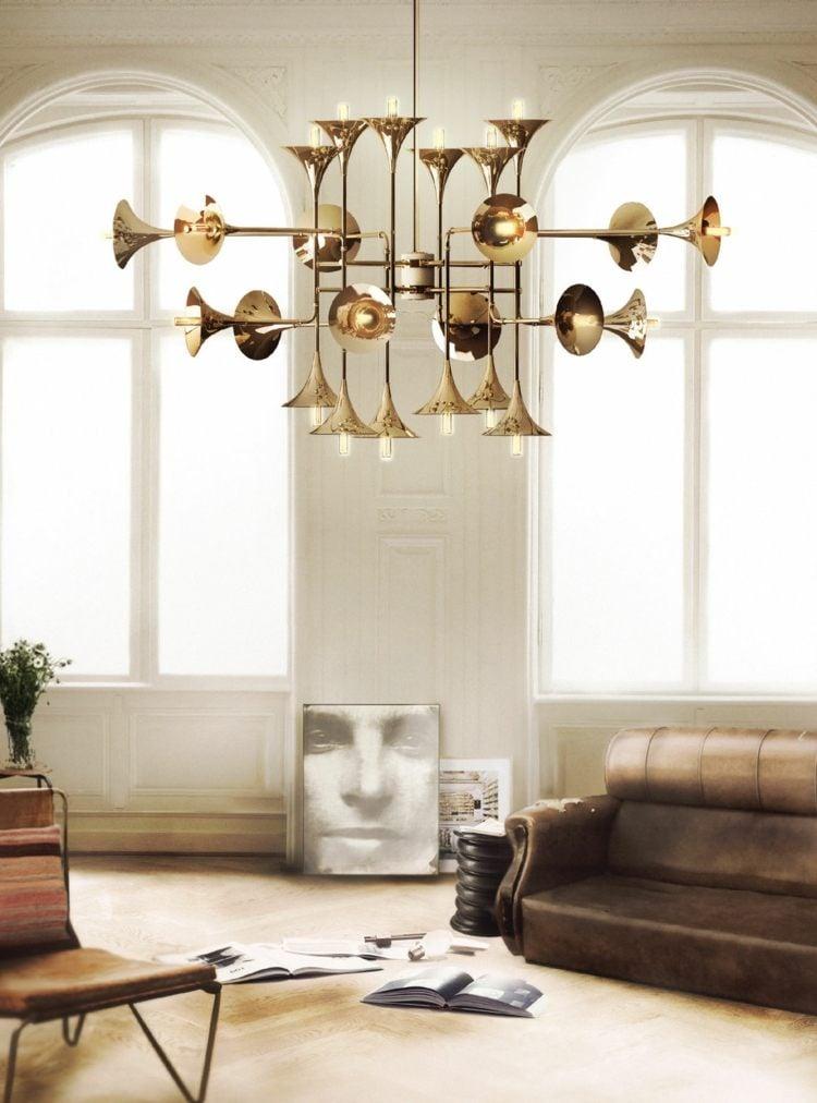 Designer Wohnzimmerlampen Trompeten