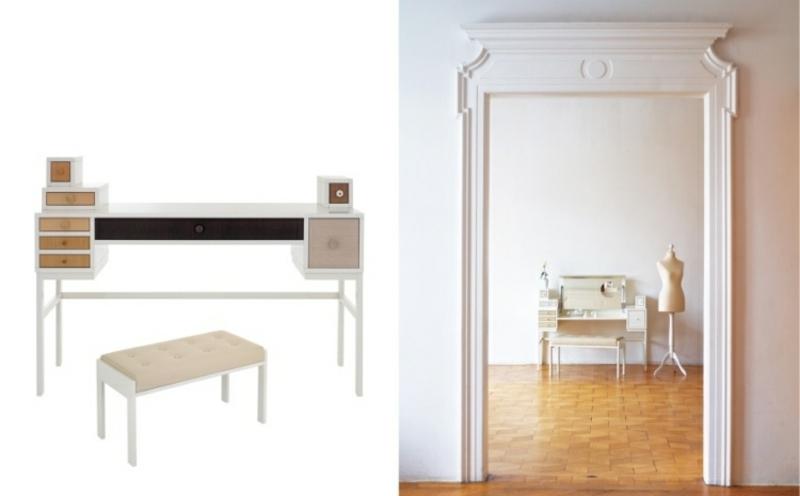 Schminktische minimalistische Designs