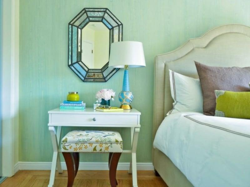 Spiegel im Schlafzimmer herrlicher Look