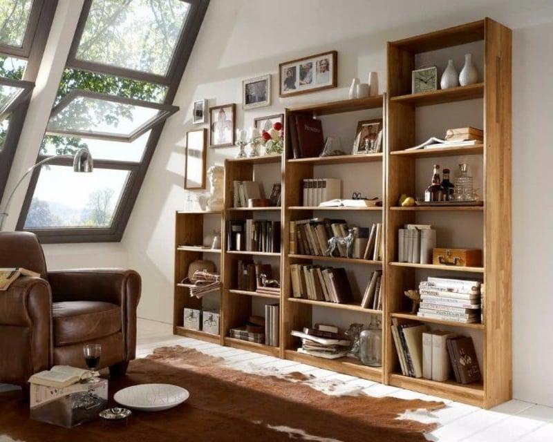 Bücherregal stilvolle Designs