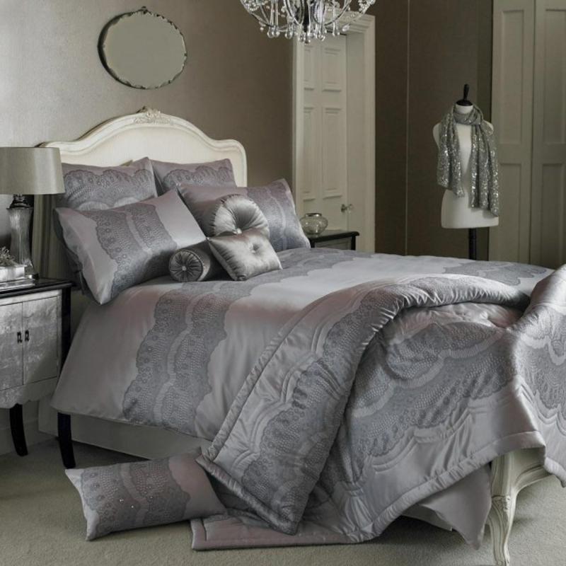 Schlafzimmer graue Töne modern