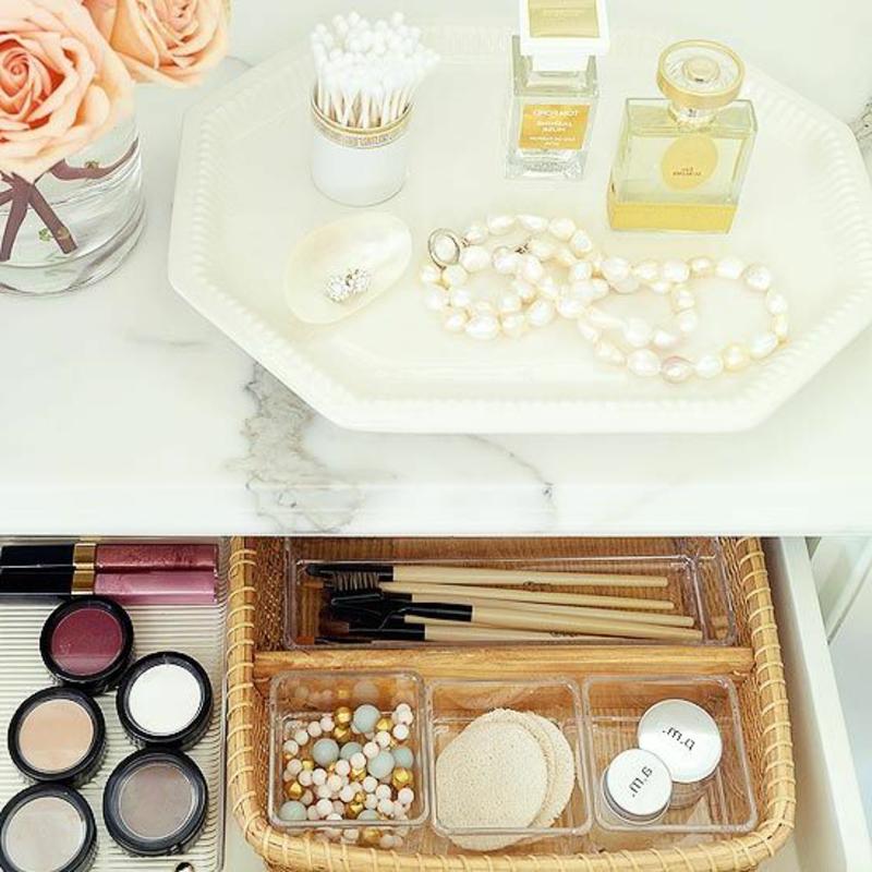 Make-up in Ordnung halten