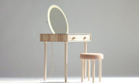 Möbel im minimalistischen Stil