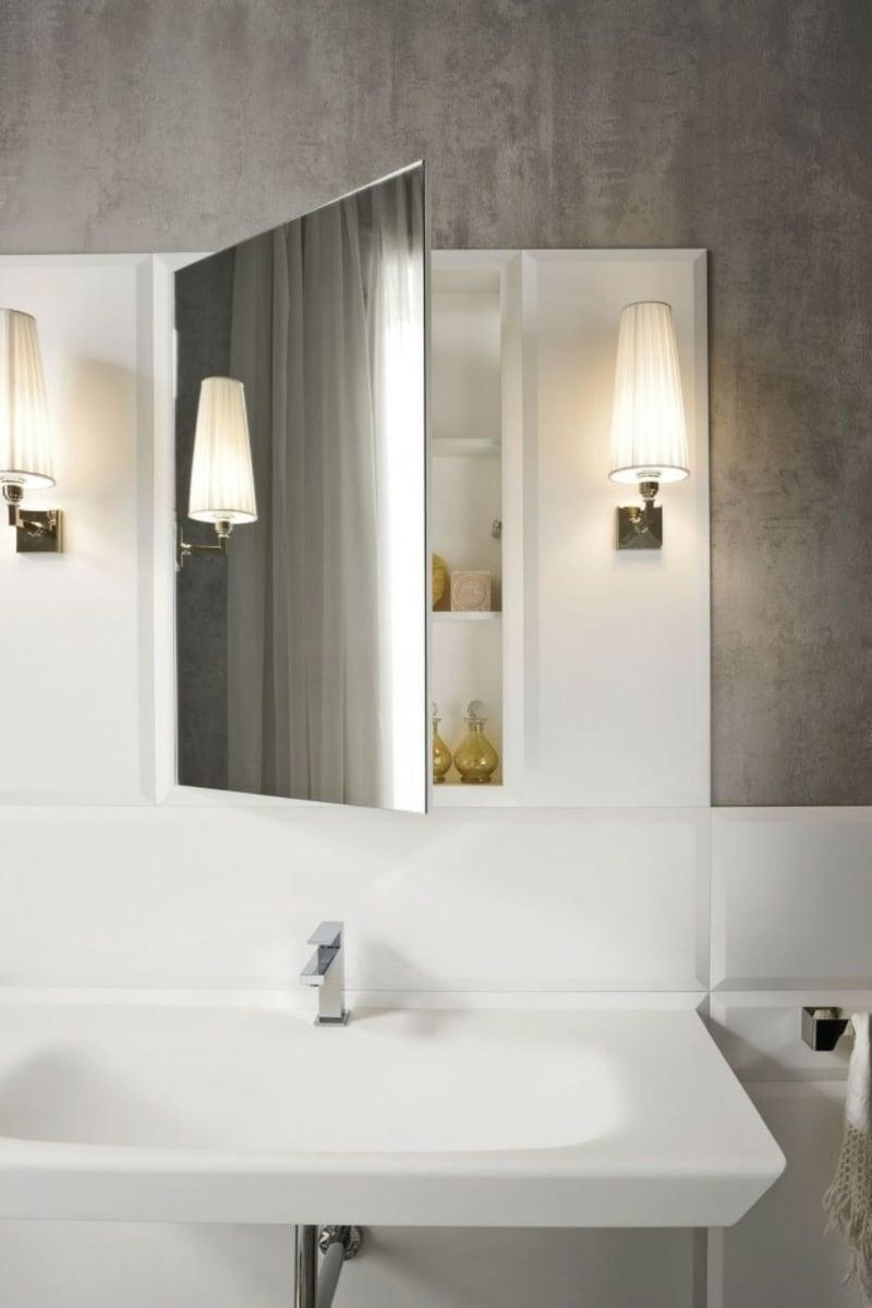 Spiegelschrank Bad Akzentbeleuchtung