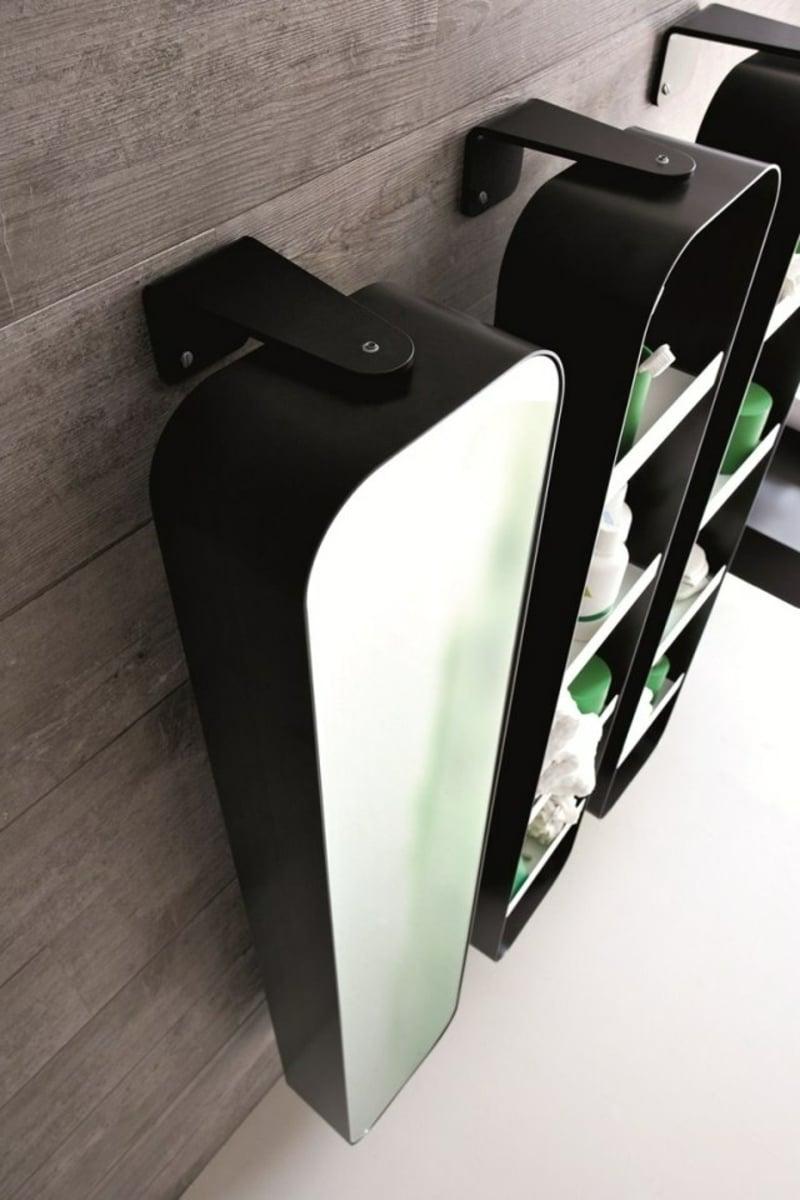 Spiegelschrank Bad hängend klein praktisch