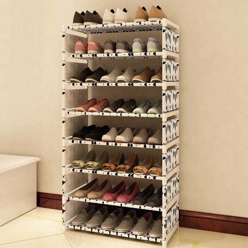 Schuhschrank gemustert moderner Look