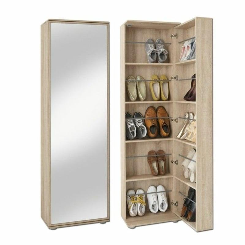 Schrank Schuhe Tür Spiegel