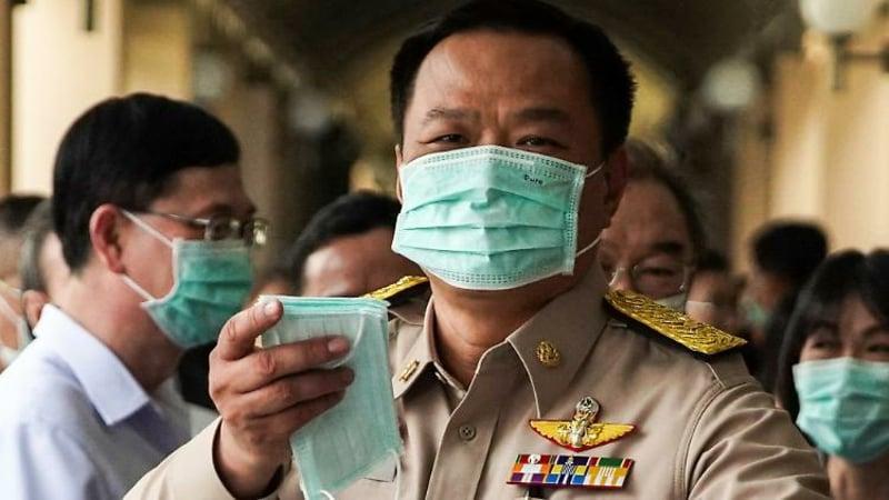 Schutmasken tragen Coronavirus