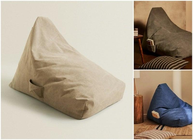Zara Home Möbel Sitzkissen