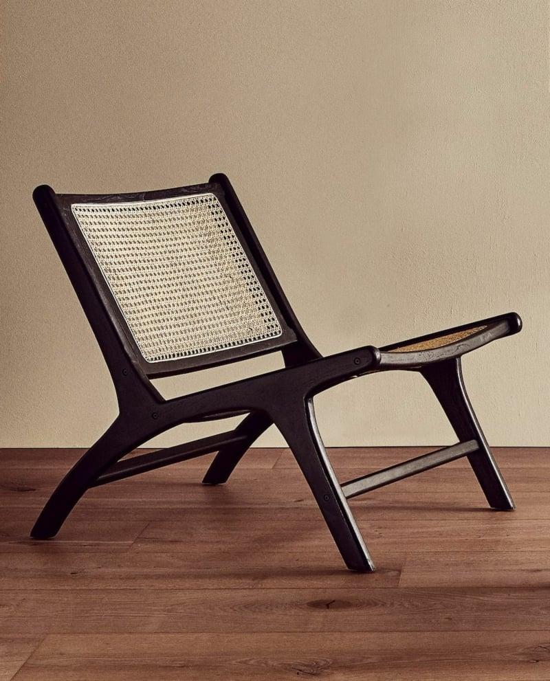 Stuhl aus Holz stilvolles Design