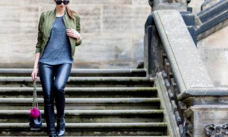 Treggins stilvoll kombinieren Modetipps