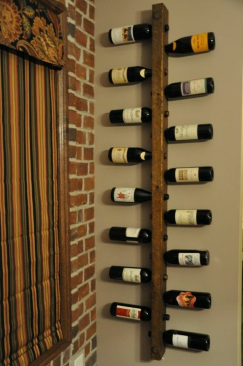 Weinregal stilvolles Design