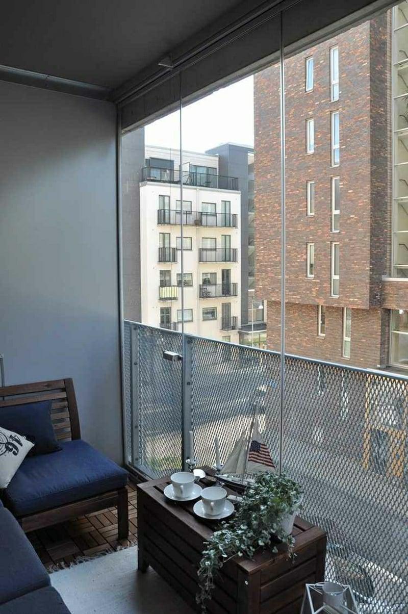 Windschutz Balkon Ideen und Anregungen