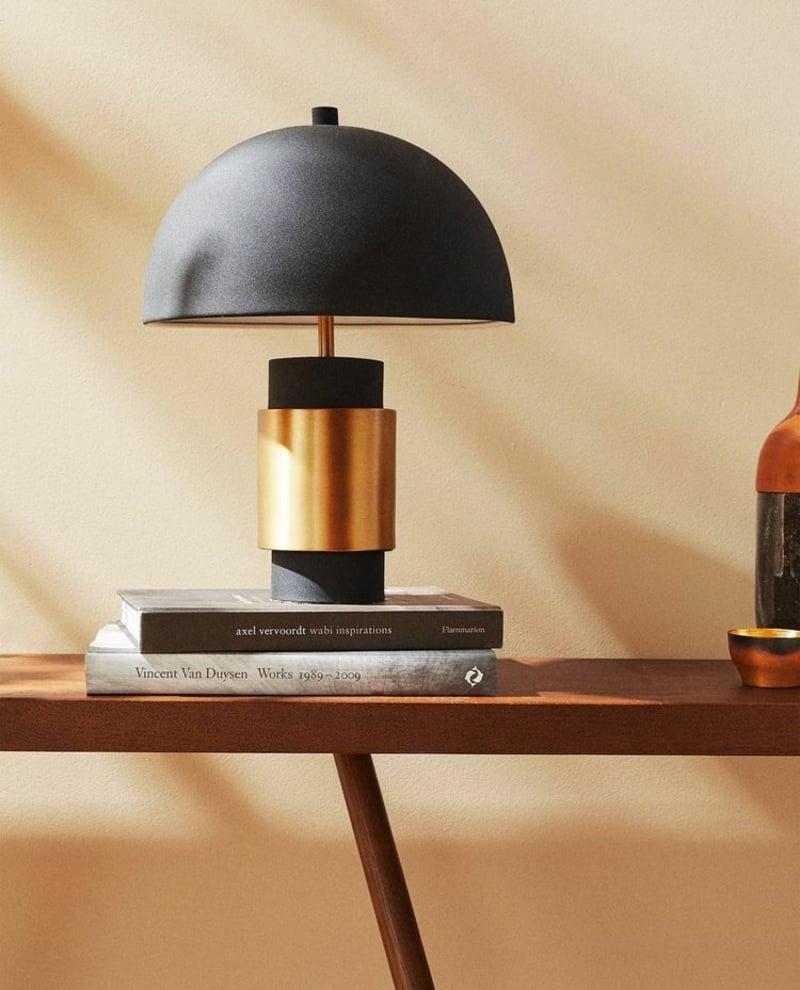 originelle Stehlampe Wohnzimmer