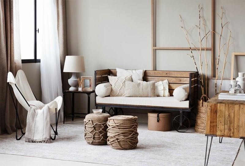 Zara Home Möbel Ideen für das Wohnzimmer