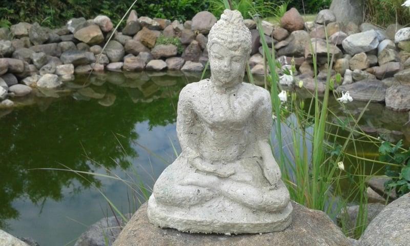 Gartenskulpturen Buddha