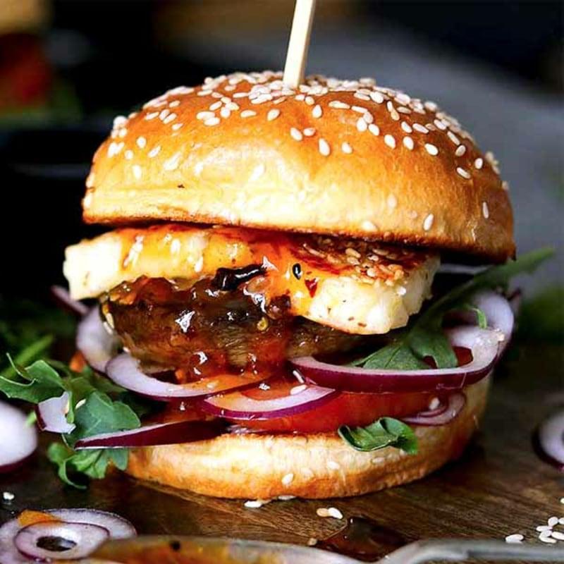 Partyfood selber machen Burger