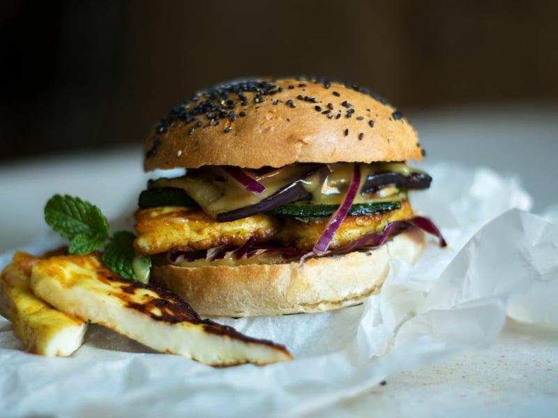 Halloumi Burger das beste Rezept