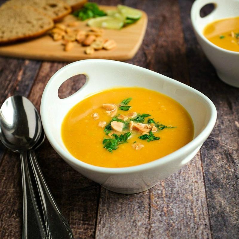 Karotensuppe selber machen