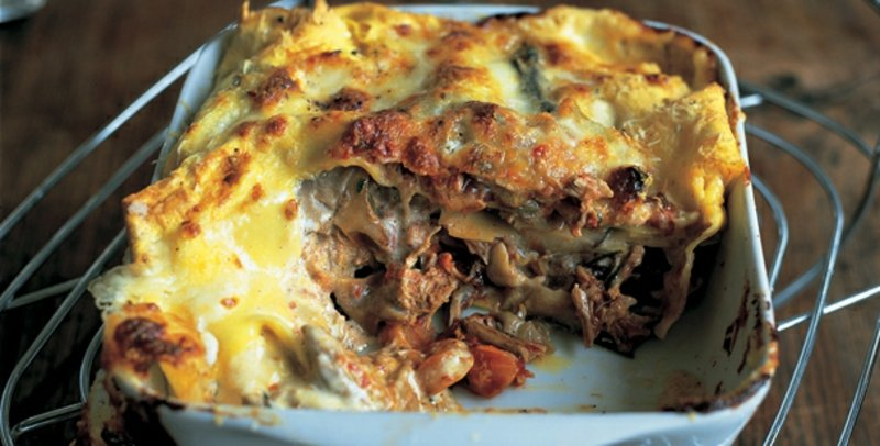 Jamie Oliver Lasagne selber zubereiten